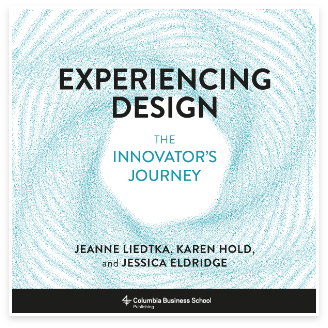 Experiencing design book cover